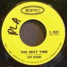CLIFF RICHARD~The Next Time~EPIC 9597 (Soft Rock) VG+ 45