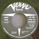 COUNT BASIE~On the Road to Mandalay~Verve 10318 (Big Band Swing)  45