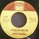 STEVIE WONDER~A Place in the Sun~Tamla 54139 (Soul)  45