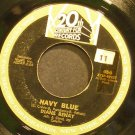 DIANE RENAY~Navy Blue~20th Century Fox 456  45