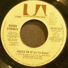 HIDDEN STRENGTH~Hustle on Up (Do the Bump)~United Artists UA-XW733-Y (Disco)  45