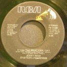 JERRY REED~I Love You What Can I Say~RCA 11281  45
