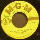JONI JAMES~Why Don't You Believe Me~MGM K11333  45