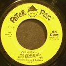 PETER PAN PLAYERS & JACK ARTHUR~Old King Cole~Peter Pan 499 (Children)  45
