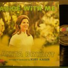 ANITA BRYANT~Abide with Me~Word 8532 (Gospel) 1st LP