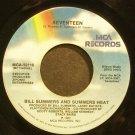 BILL SUMMERS~Seventeen~MCA 52115 (Funk)  45