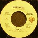 BRENDA RUSSELL~Two Eyes~Warner Bros. 29557 (Soul) Promo 45