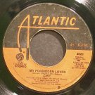 CHIC~My Forbidden Lover~Atlantic 3620 (Funk)  45
