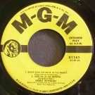 DEBBIE REYNOLDS~Never Mind the Noise in the Market~MGM X1141 Rare 45 EP