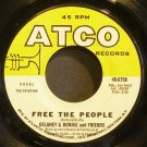 DELANEY & BONNIE~Free the People~ATCO 6756 (Soul) VG++ 45