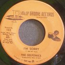 THE DELFONICS~I'm Sorry~Philly Groove 151 (Soul)  45
