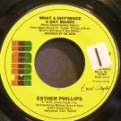 ESTHER PHILLIPS~What a Diff'rence a Day Makes~Kudu KU-925 F (Soul) VG+ 45