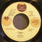 FOGHAT~Wide Boy~Bearsville BSS49779 (Hard Rock) Promo VG+ 45