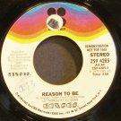 KANSAS~Reason to Be~Kirshner 4285 (Classic Rock) Promo VG+ 45