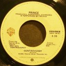 PRINCE~Controversy~Warner Bros. 49808 (Synth-Pop) VG+ 45