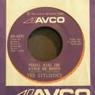 THE STYLISTICS~People Make the World Go Round~Avco 4595 (Soul) VG++ 45