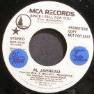 AL JARREAU~Since I Fell for You~MCA 53187 (Smooth Jazz) Promo VG+ 45