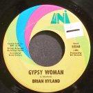 BRIAN HYLAND~Gypsy Woman~UNI 55240 VG++ 45