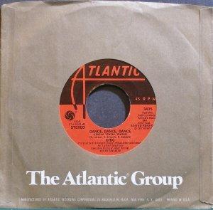 CHIC~Dance, Dance, Dance (Yowsah, Yowsah, Yowsah)~Atlantic 3435 (Disco) M- 45