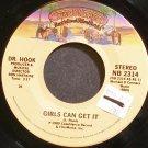 DR. HOOK~Girls Can Get it~Casablanca 2314 (Funk) VG+ 45