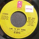 THE O'JAYS~Time to Get Down~Philadelphia Int'l 3531 (Soul) VG+ 45