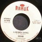 SHAR~A Robin Sang~Ramuk 1001 VG+ 45