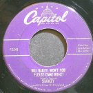 SHARKEY & HIS KINGS OF DIXIELAND~Bill Bailey, Won't You Please Come Home?~Capitol F2243 1st 45