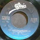 STANLEY CLARKE~You Are the One for Me~EPIC 03388 (Funk) VG+ 45