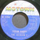 THE JACKSON 5~Sugar Daddy~Motown 1194F (Soul) 1st 45