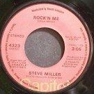 STEVE MILLER~Rock 'N Me~Capitol 4323 (Classic Rock)  45