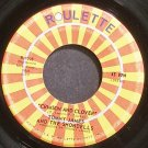 TOMMY JAMES & THE SHONDELLS~Crimson and Clover~Roulette 7028 (Rock & Roll)  45