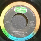 TYRONE DAVIS~I'll Be Right Here~Dakar 618 (Soul)  45