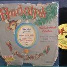 "DICK EDWARDS~Rudolph the Red Nose Reindeer~Peter Pan 31 (Christmas) VG+ 7"" 78 RPM Vinyl"