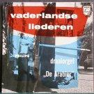 DRAAIORGEL DE ARABIER~Vaderlandse Liederen (PS)~Philips 207 PE (Scandinavian) Rare Holland 45