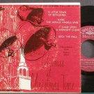 GODFREY MALCOLM & FREDRICO~Chimes at Christmas Time~Waldorf Music Hall 45-134 VG+ 45 EP