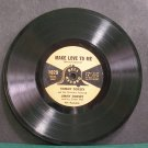 "JIMMY DORSEY & TOMMY DORSEY~Make Love to Me~Bell 1029 (Big Band Swing)  7"" 78 RPM Vinyl"