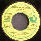 LITTLE RIVER BAND~Lady~Harvest 4667 (Classic Rock) VG+ 45