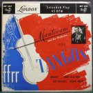 MANTOVANI & HIS ORCHESTRA~Play Tangos (PS)~London ffrr 6069  45 EP