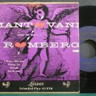 MANTOVANI & HIS ORCHESTRA~Plays the Music of Romberg, Vol. 1~London ffrr BEP.61 VG+ 45 EP