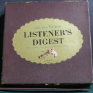 VARIOUS~The RCA Victor Listener's Digest~RCA Victor 1 VG+ 45 Box Set