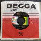 JIMMY WAKELY~Faded Love~Decca 32271 VG++ 45