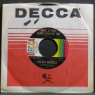 WILMA BURGESS~Only a Fool Keeps Hangin' On~Decca 32273 VG++ 45