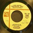 DEODATO AKA EUMIR DEODATO~Also Sprach Zarathustra (2001)~CTI 12 (Funk) VG+ 45
