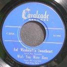 DICK KING~Auf Wiederseh'n Sweetheart~Cavalcade 201 (Big Band Swing) Rare 45 EP