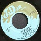 DON HINTON & WHITE GOLD~Run Buck Run~JoDon 14648 (Rockabilly) VG++ 45