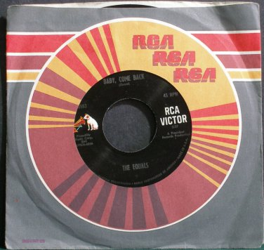 THE EQUALS~Baby, Come Back~RCA Victor 9583 (Rock & Roll) M- 45 l