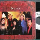 HEART~Never (Remix)~Capitol P-B-5512 (Classic Rock) Promo M- 45