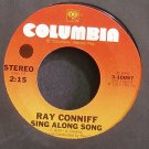 RAY CONNIFF~Sing Along Song~Columbia 10097 Rare VG++ 45