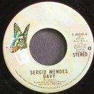 SERGIO MENDES~Davy~Elektra 45249 (Bossa Nova) VG+ 45