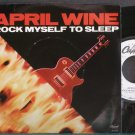 APRIL WINE~Rock Myself to Sleep~Capitol P-B-5506 (Hard Rock) Promo M- 45